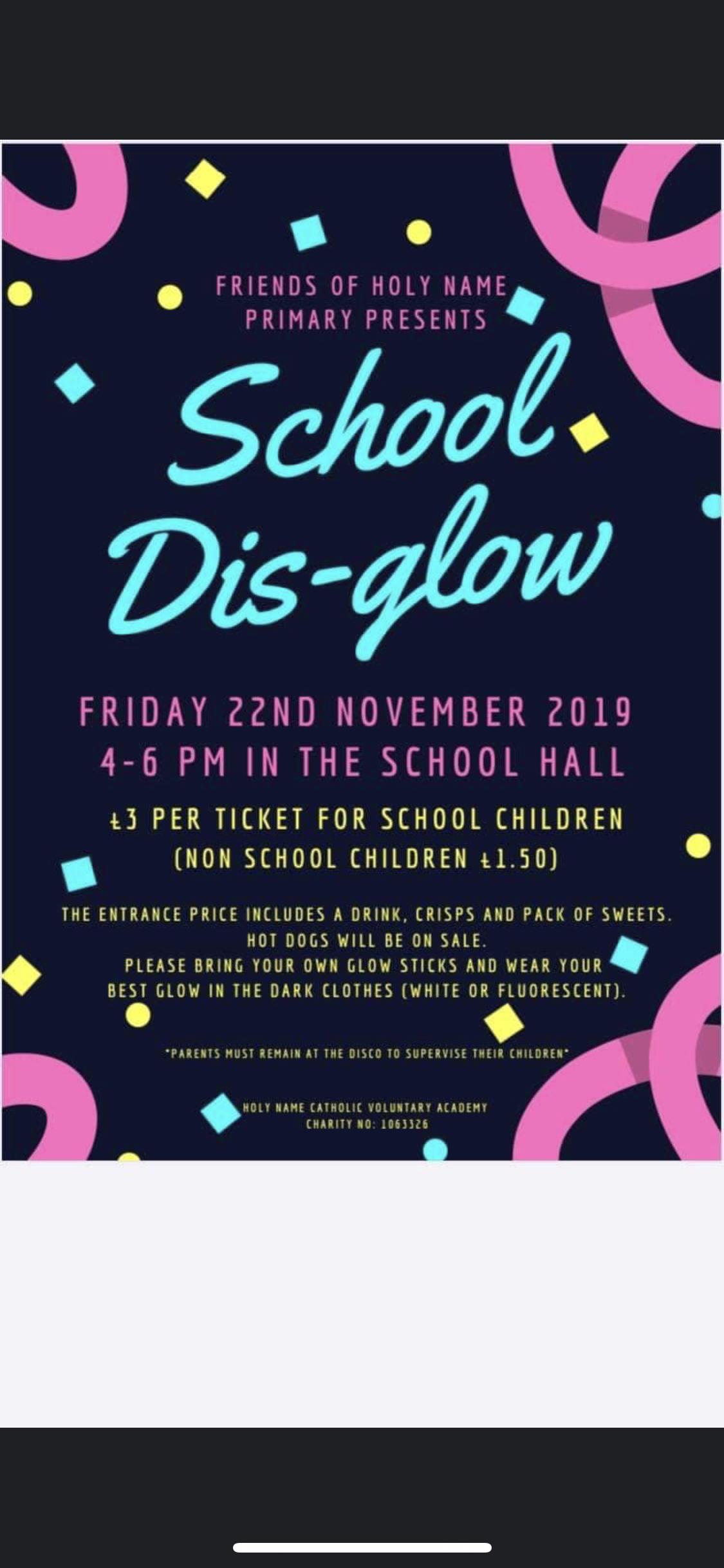 School Dis-Glow