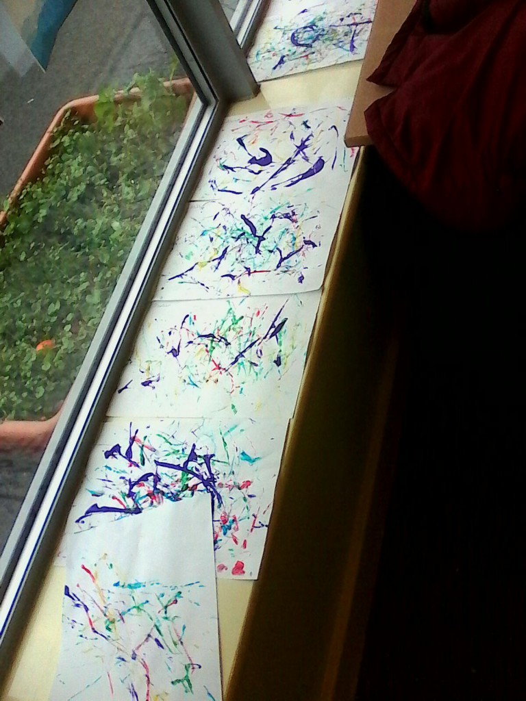 Jackson Pollock Art and Blubber Glove Test ...